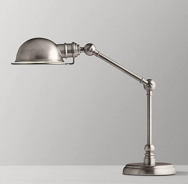 Task table lamp antique brushed nickel academy task table lamp antique brushed nickel aloadofball Gallery