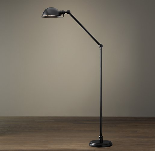 Academy task floor lamp oil rubbed bronze mozeypictures Image collections