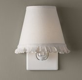 Ruffle Nightlight - Warm White