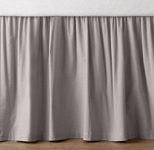 Long Crib Bed Skirt