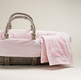 Cuddle Plush Moses Basket Bedding & Ash Basket Set