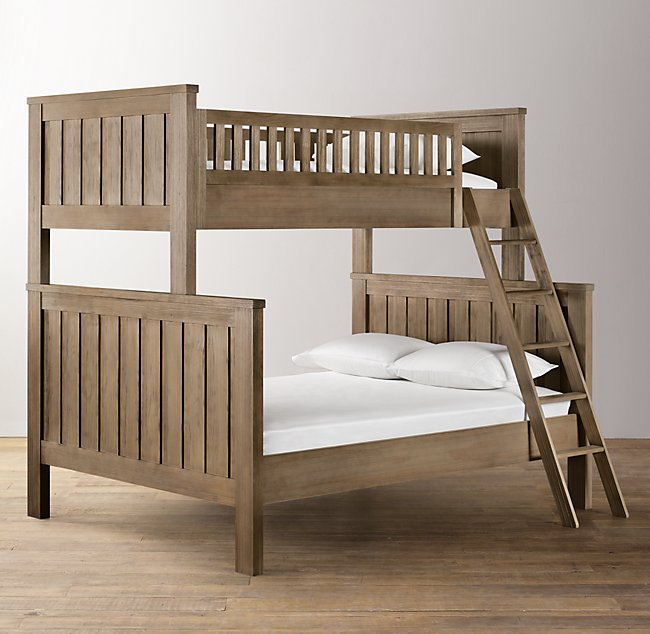 full max home bed bunk with espresso solid twin beds lily in over wood storage