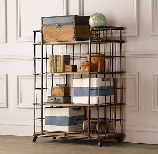 Industrial Baker S Storage Rack Tall