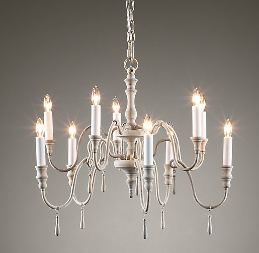 lutèce chandelier  oatmeal, Lighting ideas