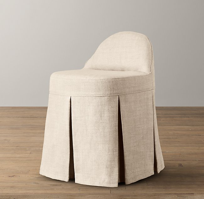 Admirable Maxine Vanity Stool Base Dailytribune Chair Design For Home Dailytribuneorg