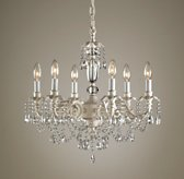 Brocade 6-Arm Chandelier