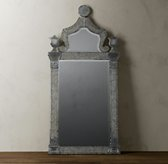 19th Century Etched Ravenna Mirror