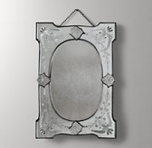 Distressed Rectangle Wall Mirror