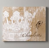Personalized Crown Art - Ivory