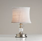 Mini Noelle Lamp With Shade Antique Pewter