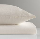 Washed Organic Linen Toddler Pillowcase