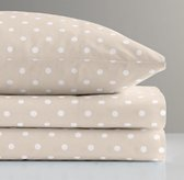 Pin Dot Crib Fitted Sheet