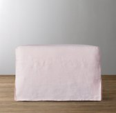 Demi Slope Arm Ottoman Slipcover Only