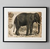 African Animal Art - Elephant
