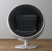 "42"" Orbit Spitfire Velvet Chair"