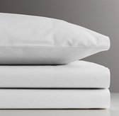 Vintage-Washed Percale Toddler Sheet Set