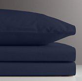 Vintage-Washed Percale Sheet Set