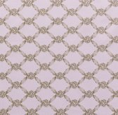 European Rosette Lattice Bedding Swatch