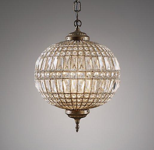 Casablanca medium crystal pendant workwithnaturefo