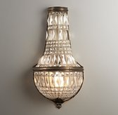 French Regency Large Crystal Sconce
