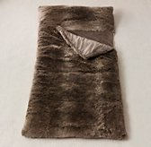 Luxe Faux Fur Sleeping Bag - Mink