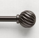 Classic Fluted Ball Finials & Rod