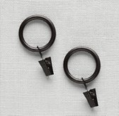 Classic Clip Rings Set of 7 - Oil-Rubbed Bronze