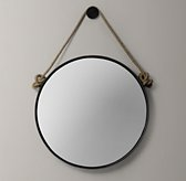 Iron And Rope Mirror - Black