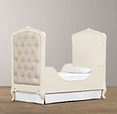 Colette Toddler Bed Conversion Kit - Antique Ivory