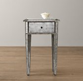 Ava Mirrored Side Table