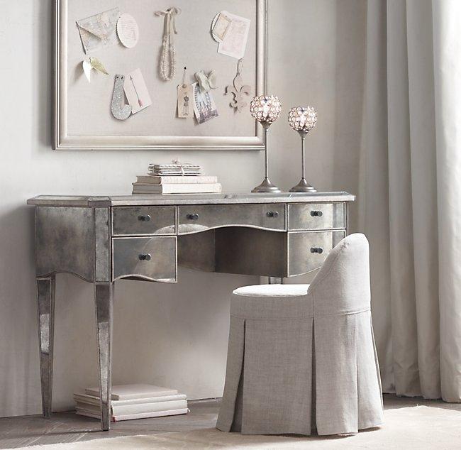 Fine Maxine Vanity Stool Stocked Slipcover Creativecarmelina Interior Chair Design Creativecarmelinacom