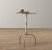 Parisian Side Table - Burnished Pewter