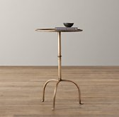Parisian Side Table - Burnished Gold