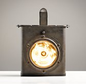Industrial Carriage Lantern - Rust