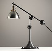 Industrial Era Task Lamp Pewter