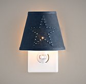 Twinkle Star Nightlight - Navy