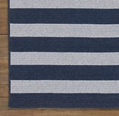 Striped Braided Wool Rug Swatch