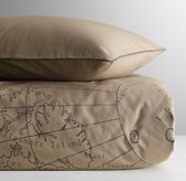 Atlas Print Duvet Cover