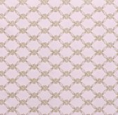 European Rosette Lattice Toddler Bedding Swatch