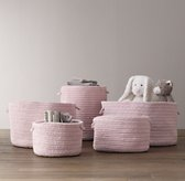 Braided Wool Baskets - Petal