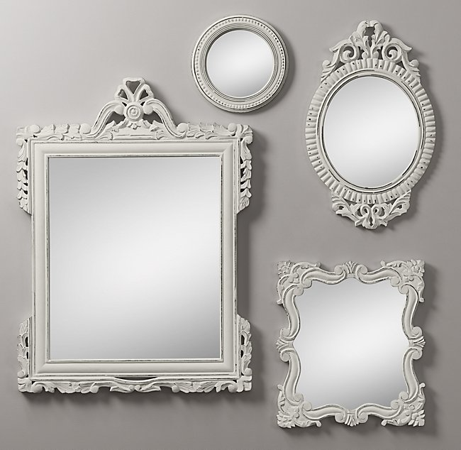 Lovely Vintage Hand-Carved Mirrors BN43