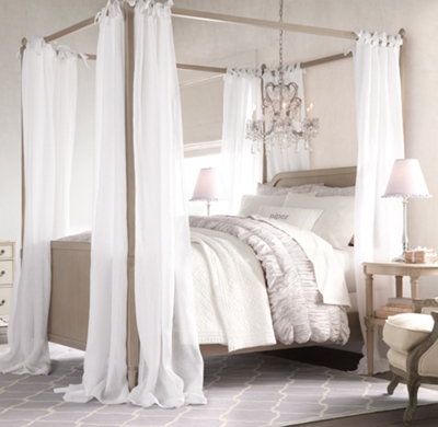 Over Hanging Nets For Twin Bed