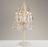 Candelabra Table Lamp Ivory