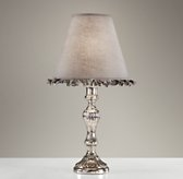 Vintage Mercury Glass Table Lamp Base