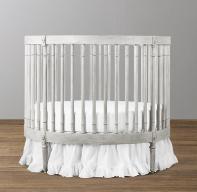 Ellery Round Crib Amp Mattress