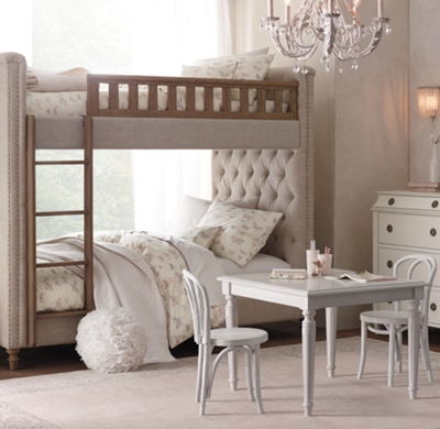 Chesterfield Tufted Bunk Bed