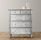 Ava Mirrored Tall Dresser