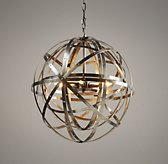 Orbital Sphere Small Pendant - Pewter