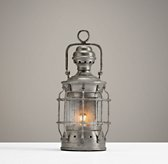Mini Vintage Lantern - Pewter