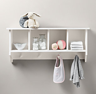 Weathered Wall Organizer
